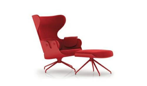 Ohrensessel leder modern  56 Designer Relax Sessel – Ideen für moderne Wohnzimmermöbel