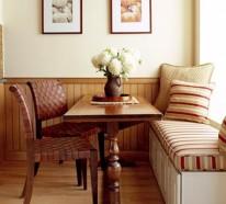 Erneuerung der Küche mit farbenfrohen Stoffen