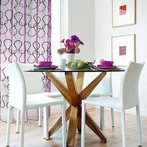 mehr licht und lebendigkeit ins esszimmer bringen 35 coole ideen. Black Bedroom Furniture Sets. Home Design Ideas