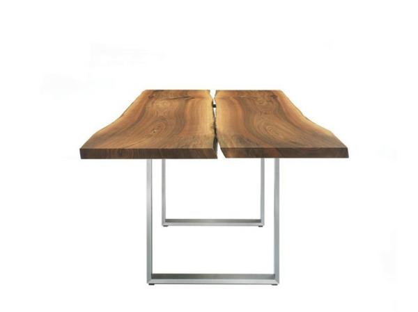 esstische sitzbänke und stühle design holz schlicht