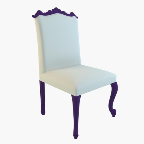 esszimmer einrichtung moda simfonie14 stühl lila weiß antik modern