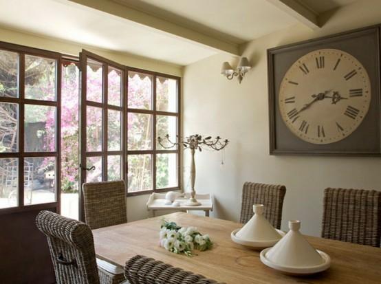 45 bezaubernde franz sische esszimmer designs. Black Bedroom Furniture Sets. Home Design Ideas