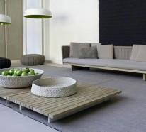 Exterieur Design von Paola Lenti – ganz einzigartige Art der Gestaltung