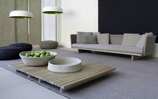 Exterieur design von paola lenti einzigartige art der for Zen einrichtungsstil