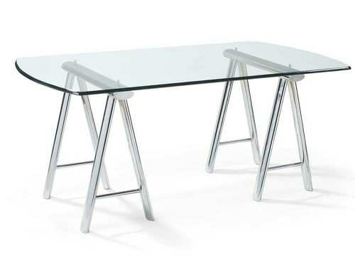 Schreibtisch extravagant  Extravaganter Schreibtisch aus durchsichtigem Glas – originelle Ideen
