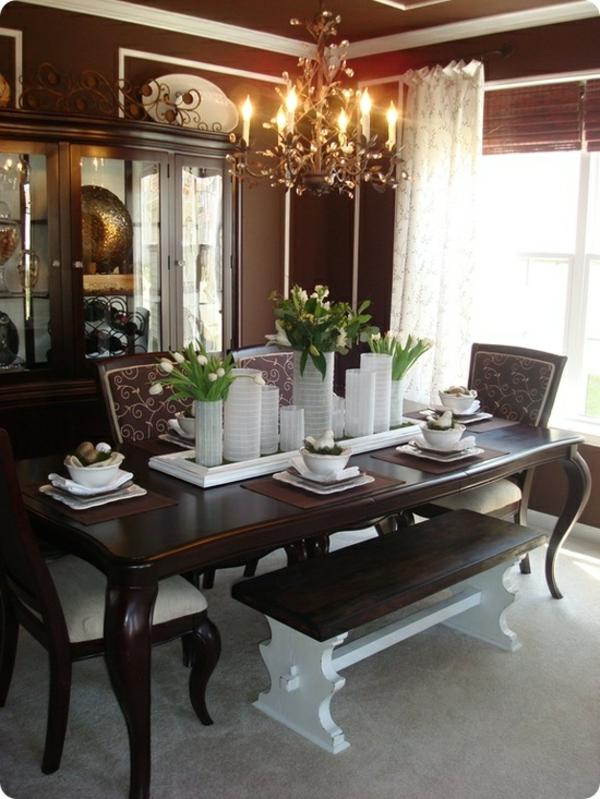 extravgant esszimmer design tulpen