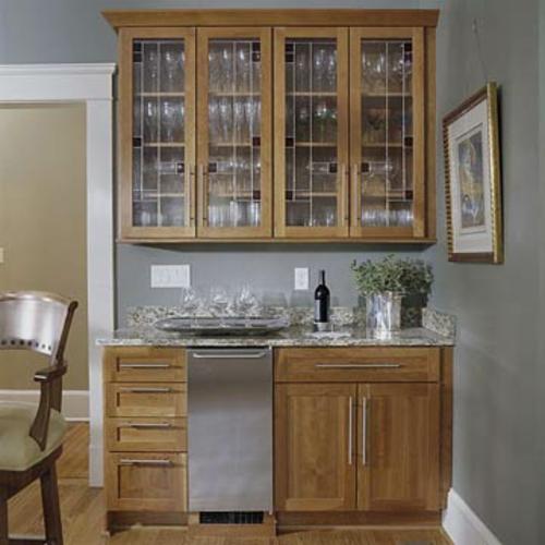 farbglas bar haus getränke schrank küche