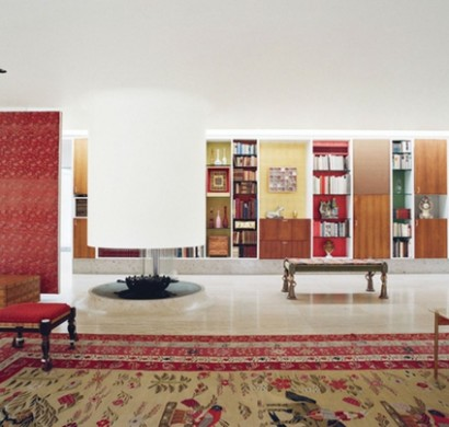 Modernes Wohnzimmer Design - Ecke zur Entspannung und Unterhaltung