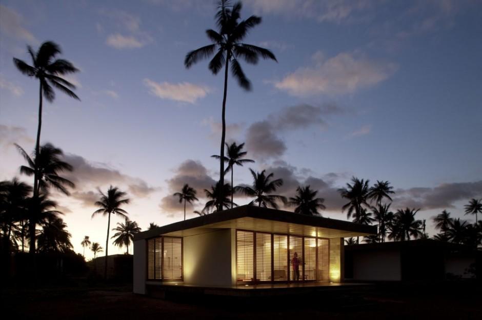 ferienhaus sommer traum mekena resort brasilien bungalow nachts