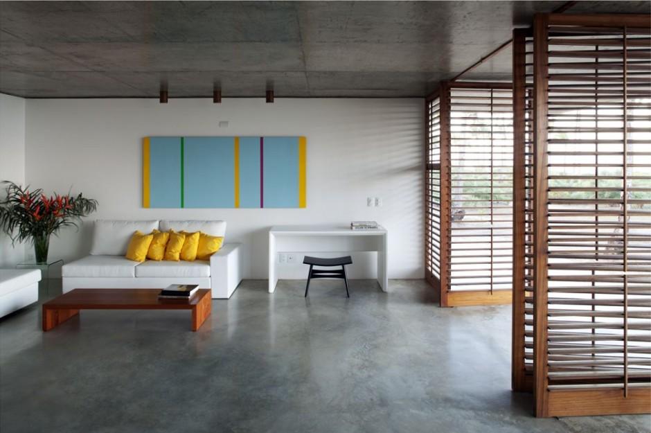 ferienhaus sommer traum mekena resort brasilien einrichtung farbig gelb kissen