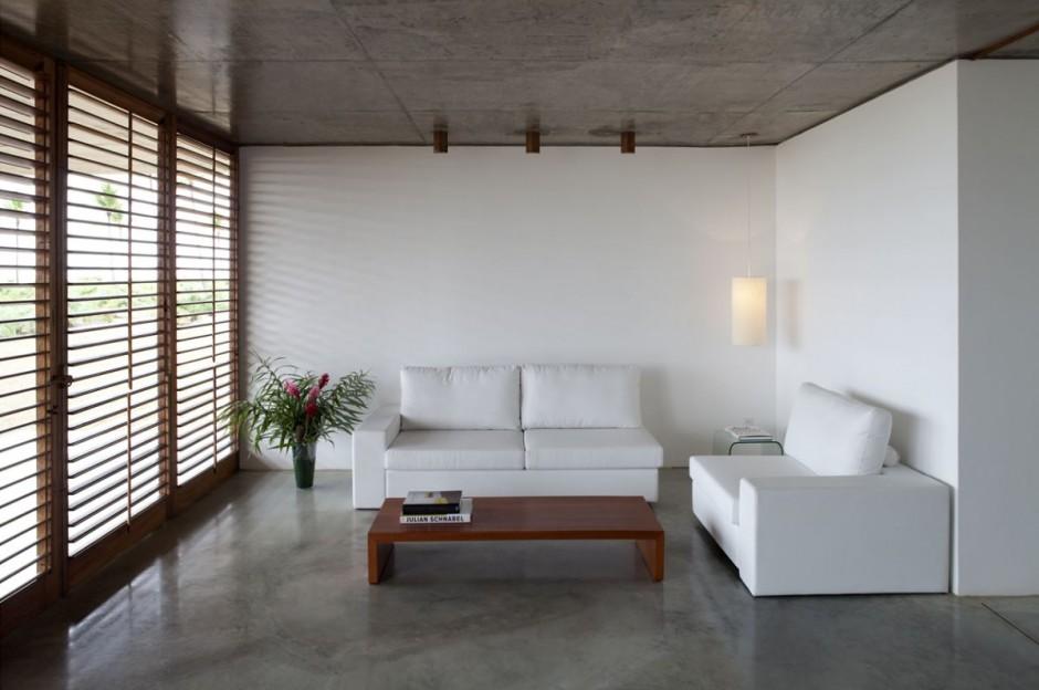 ferienhaus sommer traum mekena resort brasilien einrichtung sofa weiß schlicht