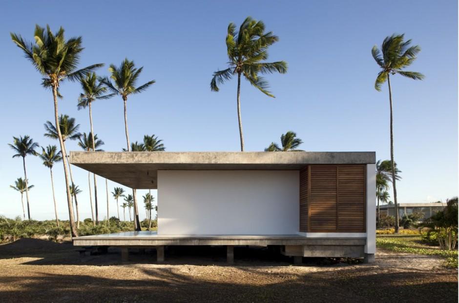 ferienhaus sommer traum mekena resort brasilien natur palmen gebäude schlicht