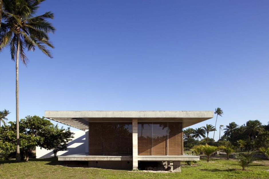 ferienhaus sommer traum mekena resort brasilien natur palmen gebäude