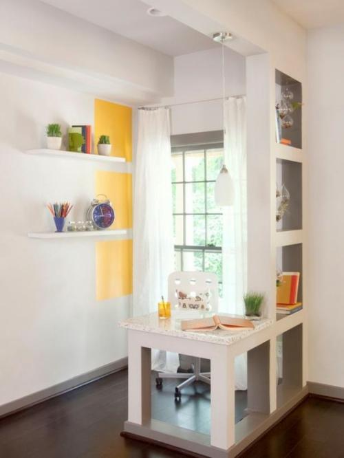 frühling deko gelb weiß klar schlicht licht natur deko gras
