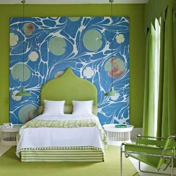 44 Beispiele Wie Schlafräume: Frühlingsdeko Im Schlafzimmer