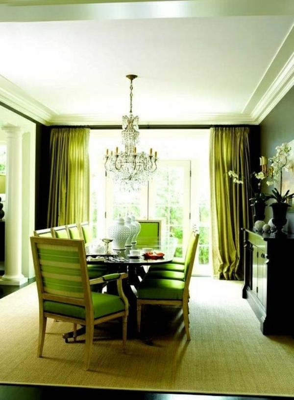 esszimmer grün ~ beste ideen für moderne innenarchitektur, Esszimmer dekoo
