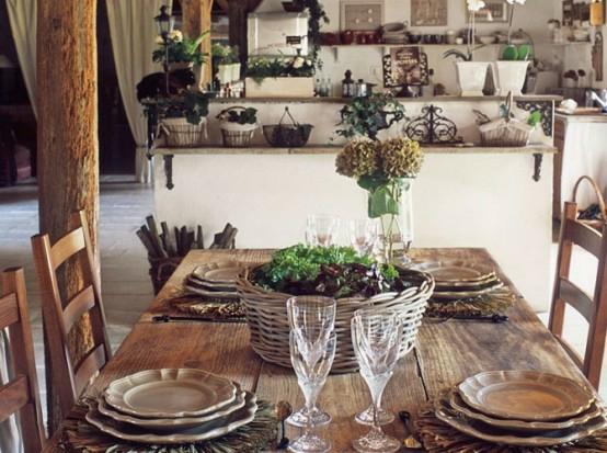 französische esszimmer designs originell echtholz  natürlich motive
