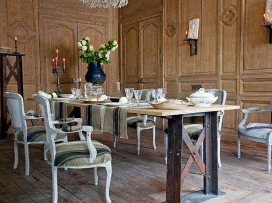 45 Bezaubernde Französische Esszimmer Designs ...