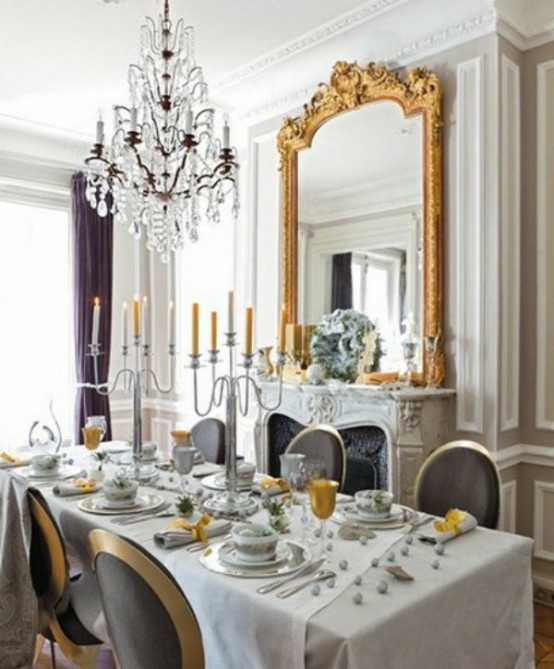 45 bezaubernde französische esszimmer designs, Esstisch ideennn