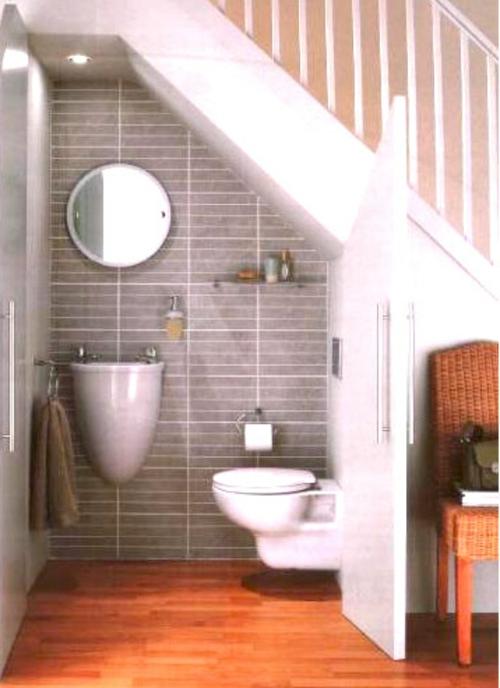 freier platz im treppenhaus kompakt damentoilette weiß