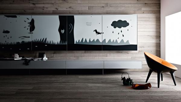 funktionale wohnzimmer möbelstücke designer idee umweltfreundlich