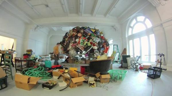 gallerie installation kunst gestaltung projekt bauen