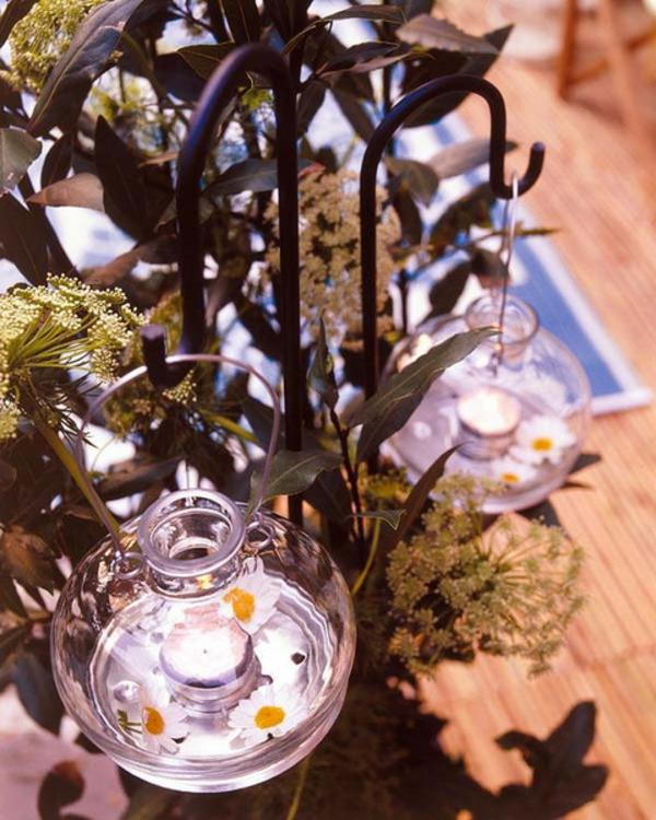 garten deko lampen teelichter