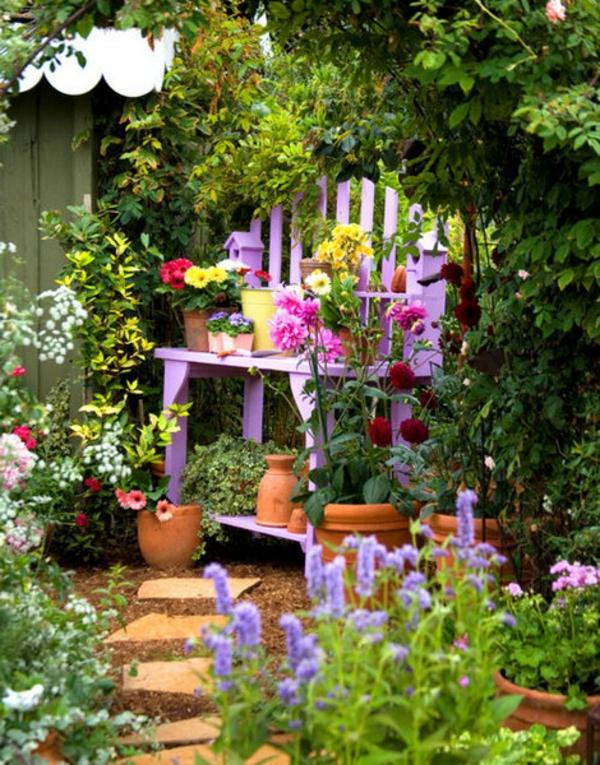 Tolle Garten Designs Mit Dekoration Von Blumentöpfen