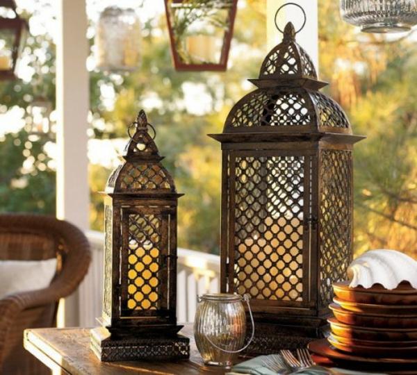 Romantische Gartenbeleuchtung Mit Kerzen 25 Originelle Ideen