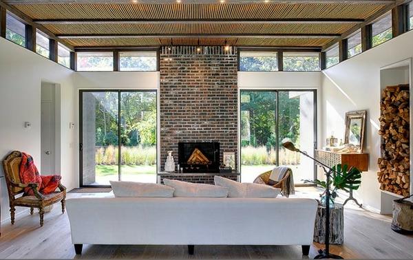 Gastliches Wohnzimmer Interieur Von Rawlins Calderone Design