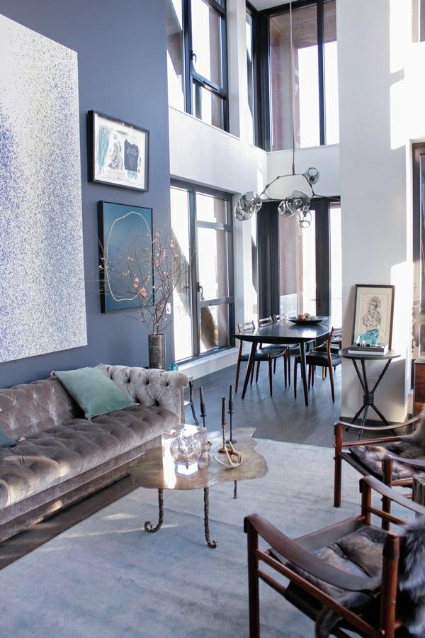 gastliches wohnzimmer interieur extravagant rawlins calderone