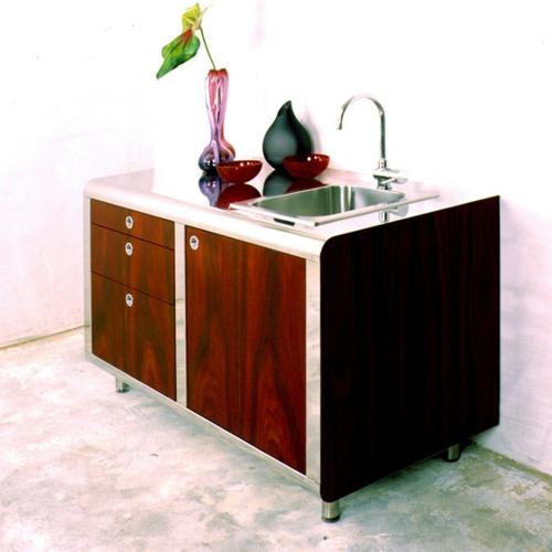 gebogene küchenmodule nola star spülbecken