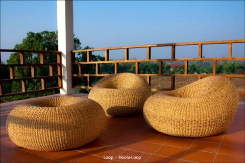geflochtene möbel onyx rattan sofa loop