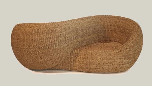 geflochtene möbel onyx rattan sofa moebius