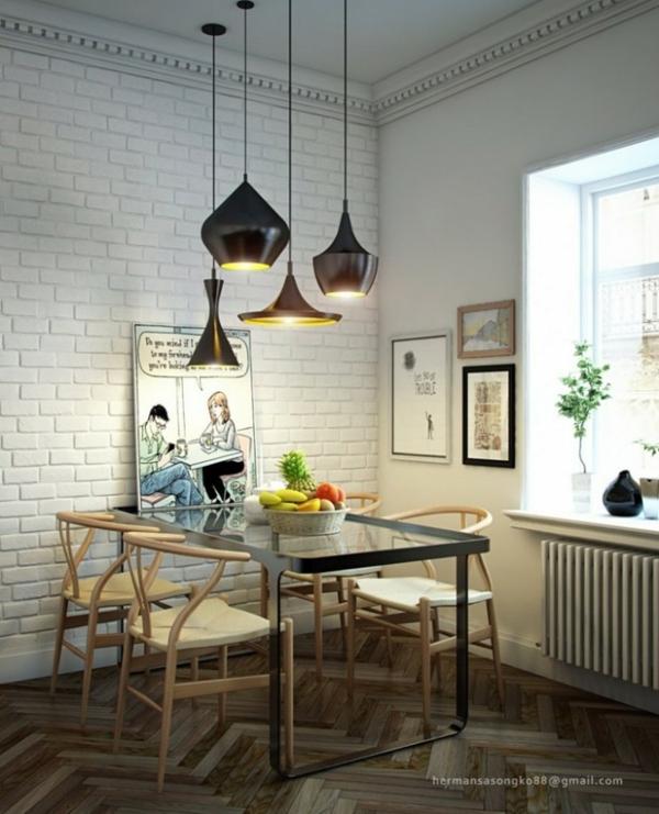 Esszimmer Mit Glastisch : Esszimmer Glastisch Schwarz  Ideen Für Das Esszimmer Design Von