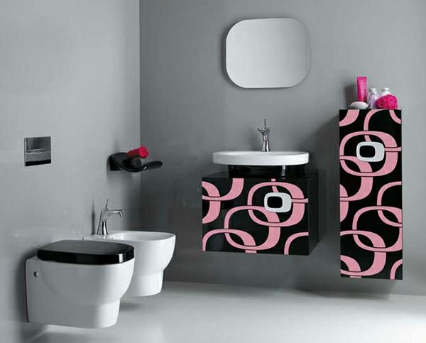 wohnzimmer grau rosa:Städtisches Wohnzimmer Design in Grau-rosa
