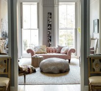 farbschema grau rosa interieur design ideen. Black Bedroom Furniture Sets. Home Design Ideas