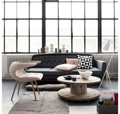 farbschema grau rosa interieur design ideen. Black Bedroom Furniture Sets. Home Design Ideas