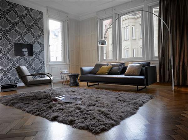 Design : Teppich Wohnzimmer Grau ~ Inspirierende Bilder Von ... Teppich Wohnzimmer Grau