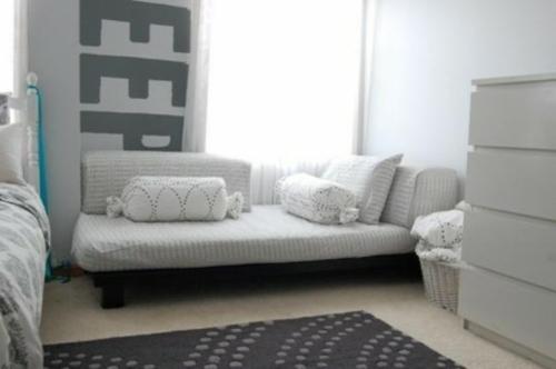 graues kinderzimmer design geschwister couch
