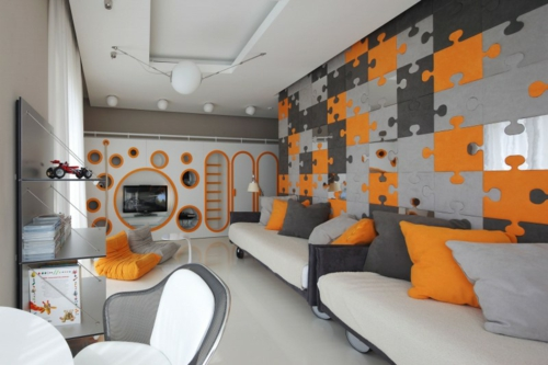 kinderzimmer farben muster – quartru, Schlafzimmer design