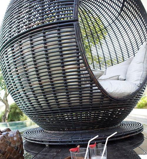 großartige korbliege apfel iglu design originell
