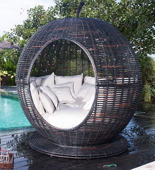 großartige korbliege apfel iglu design sofakissen