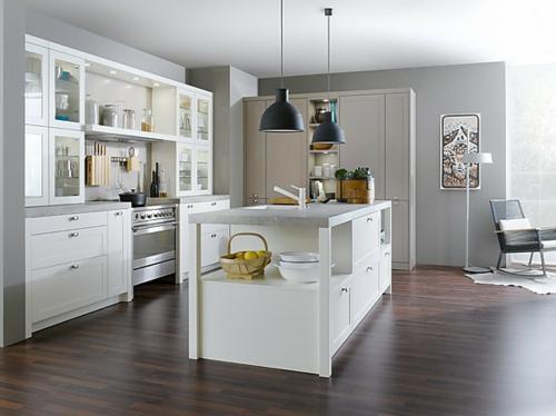 halbinsel küche insel küchenspiegel ofen schränke arbeitsbereiche