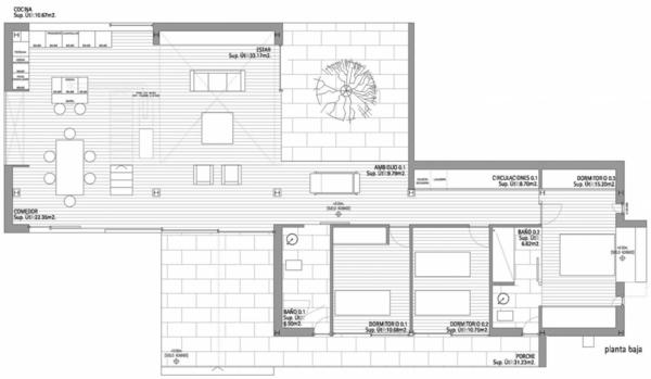 Haus Eins Entwurf Zimmer Architektur