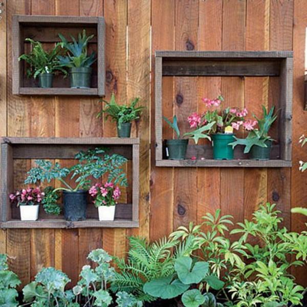 Dekoartikel garten  Tolle Garten Designs mit Dekoration von Blumentöpfen