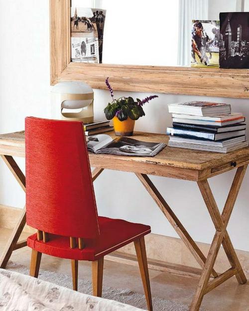 Home Office Design Spiegel Schreibtisch