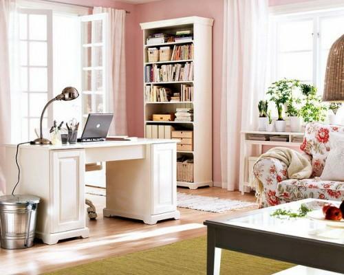 home office design traditionell stil
