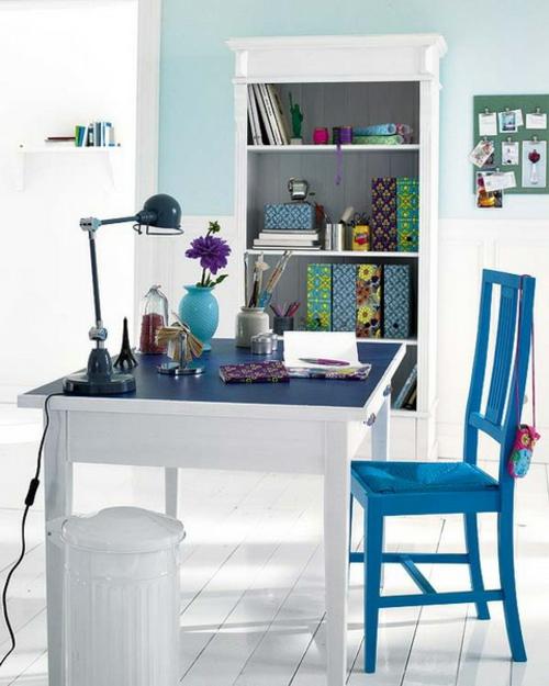 home office design weiß