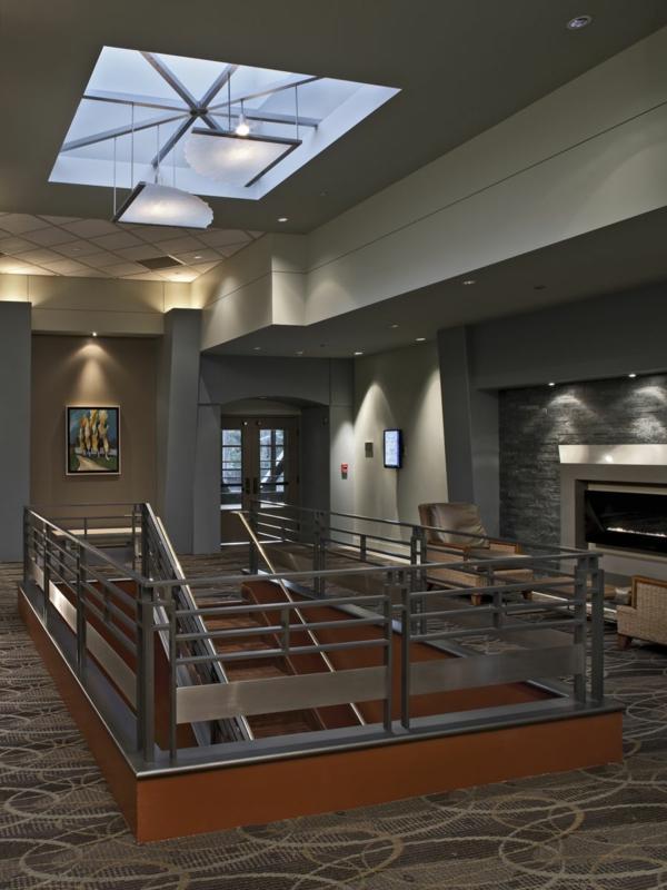 hotel interieur design treppenhaus